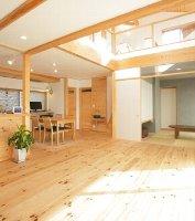 兵庫に建てられた自然素材の家・施行例